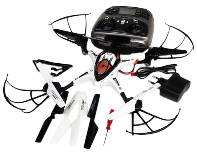 BIG J S2 RC 2.4GHz 6 Axis Gyro Quadcopter Drone