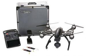 Yuneec YC076 Hitam Drone Mainan Remote Control